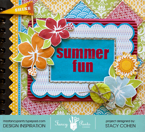 Brag Book Summer Fun COVER CLOSE UP