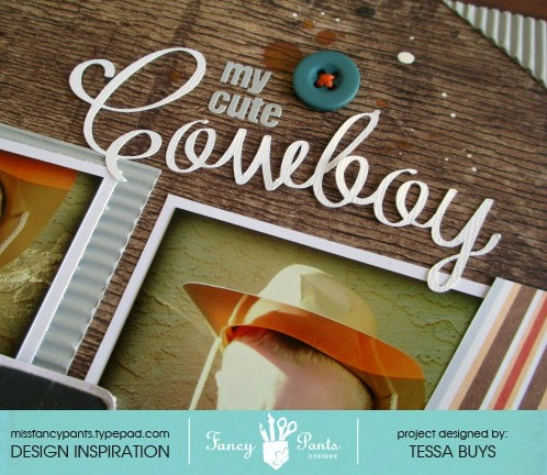 Fancy pants designs cowboy layout close-up 1