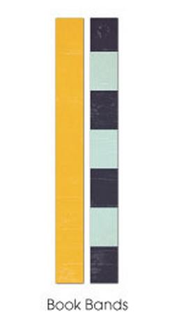 Fancy Pants Designs rubber book bands.