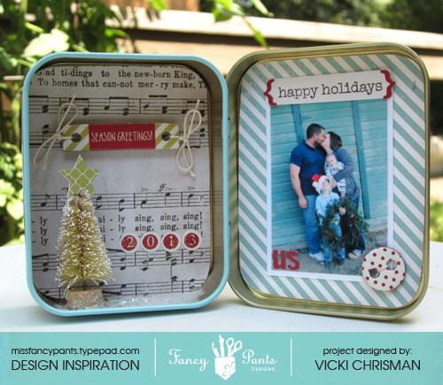 Vicki Christmas tin