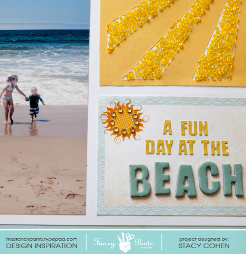 A Fun Day at the Beach close-up2