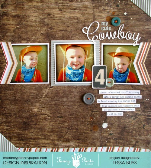Fancy pants designs cowboy layout