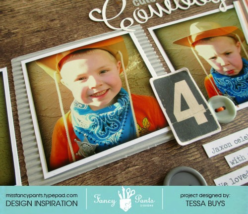 Fancy pants designs cowboy layout close-up 2