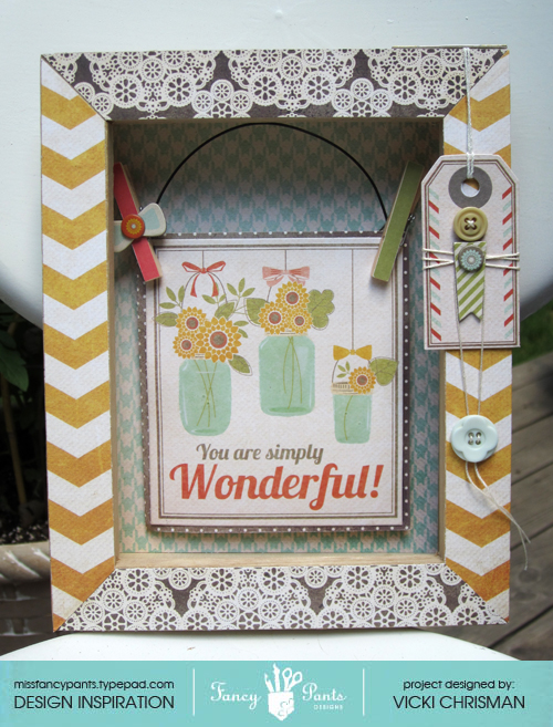Vicki Shadowbox wonderful