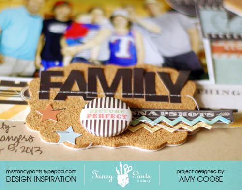 Family snapshots closeup