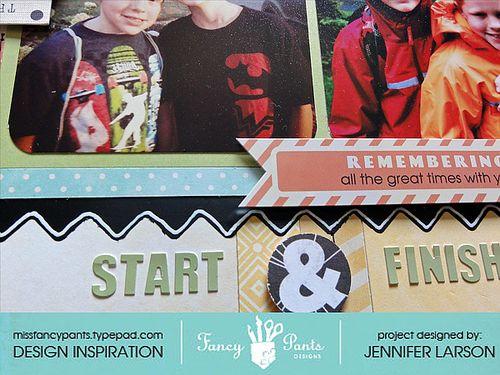 Start & Finish Details 2