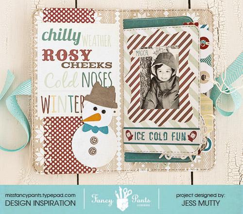 Winter Wonderland Mini Page1_Jess Mutty_Fancy Pants Designs