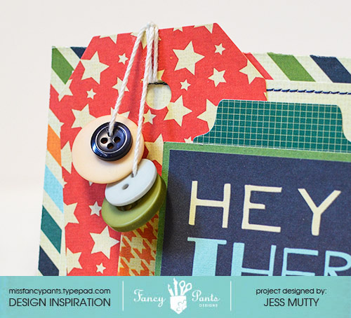Hey There Card detail_Jess Mutty_Fancy Pants Designs