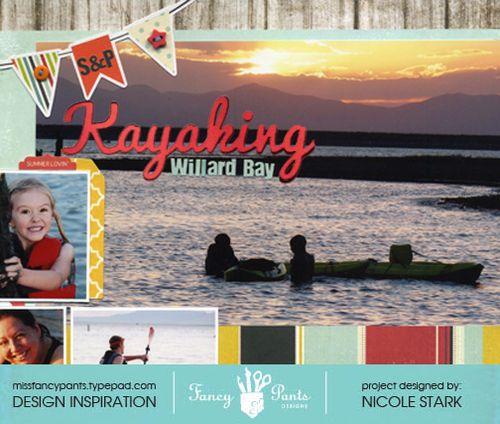Kayaking cu