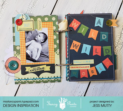 Come Out and Play Mini page1_Jess Mutty_Fancy Pants Designs