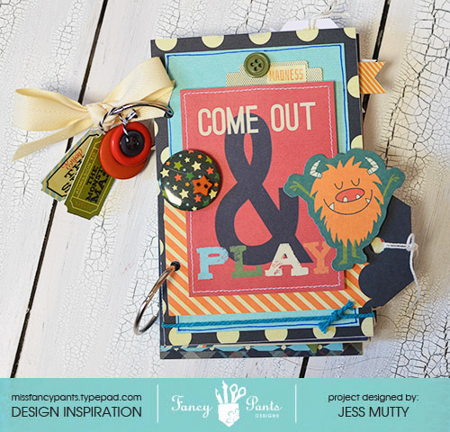 Come Out and Play Mini_Jess Mutty_Fancy Pants Designs