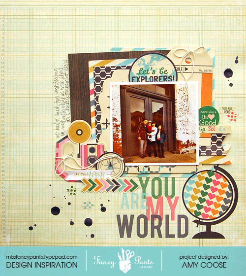 You are my world banner