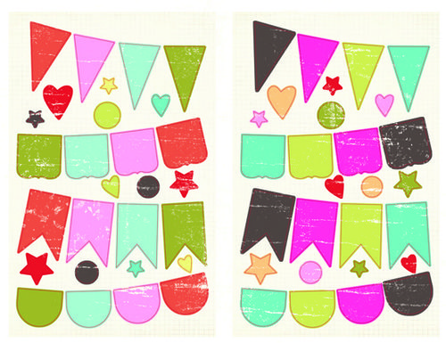 Summer Soul Chipboard Banners