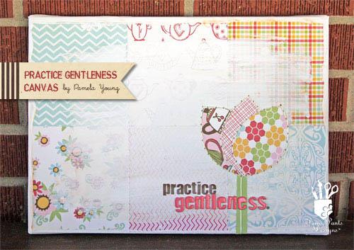Practice Gentleness Canvas