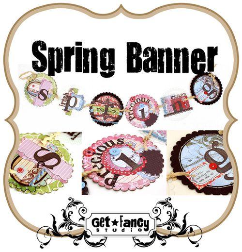 Spring Banner Kit