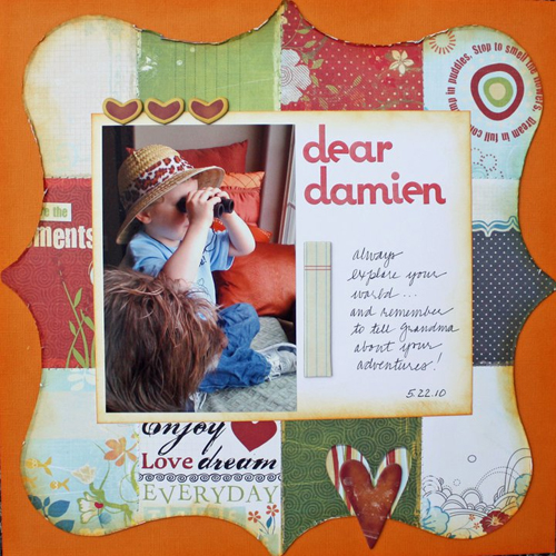 Dear Damien